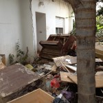 A family's entire ground floor trashed